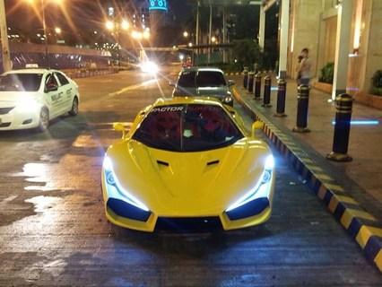 発売予定のフィリピン製スーパーカー「aurelio」、路上でスクープされる【ワンダードライビング】